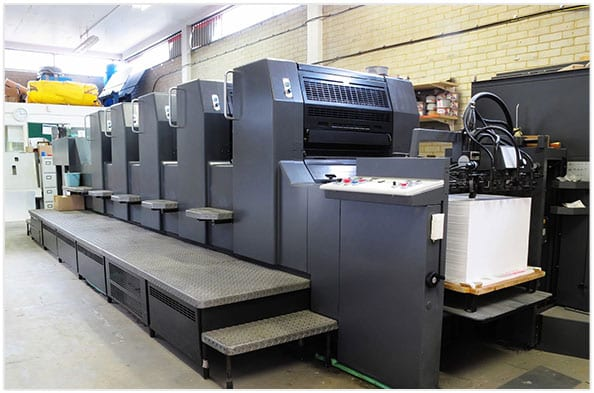 Advance Printers Machine Shop